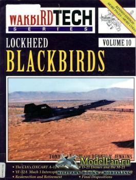 Warbird Tech Vol.10 - Lockheed Blackbirds