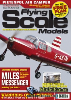 Flying Scale Models №158 (January 2013)