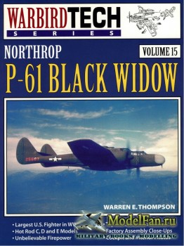Warbird Tech Vol.15 - Northrop P-61 Black Widow