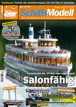 Schiffsmodell 7/2020