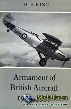 Armament of British Aircraft 1909-1939 (H.F. King)