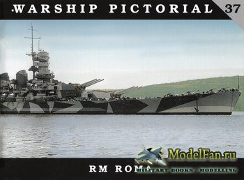 Warship Pictorial 37 - RM Roma