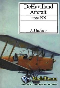 De Havilland Aircraft since 1909 (A.J. Jackson)