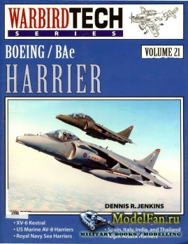 Warbird Tech Vol.21 - Boeing/BAE Harrier
