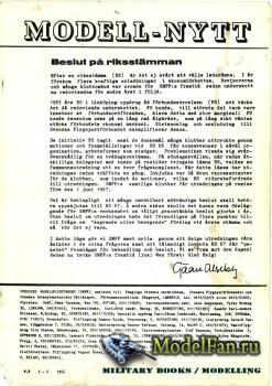 ModellFlyg Nytt №5-6 (1966)