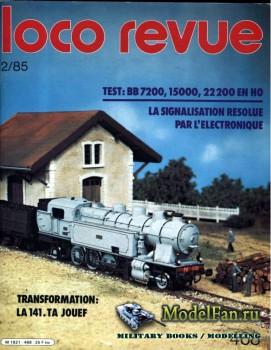 Loco-Revue №468 (February 1985)