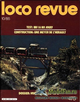 Loco-Revue №475 (October 1985)
