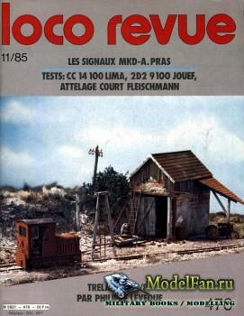 Loco-Revue №476 (November 1985)