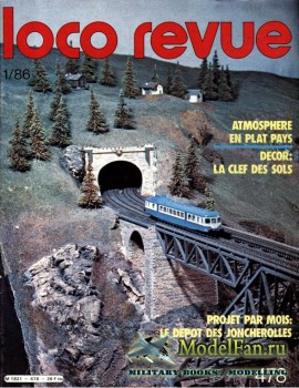 Loco-Revue №478 (January 1986)