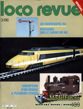 Loco-Revue №480 (March 1986)