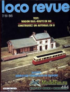 Loco-Revue №484 (July/August 1986)