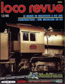 Loco-Revue №488 (December 1986)