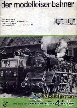 Modell Eisenbahner 4/1975