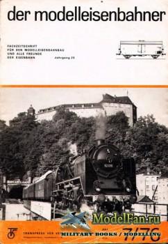 Modell Eisenbahner 7/1976
