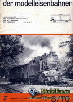 Modell Eisenbahner 8/1976