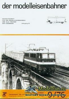 Modell Eisenbahner 9/1976