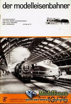 Modell Eisenbahner 10/1976