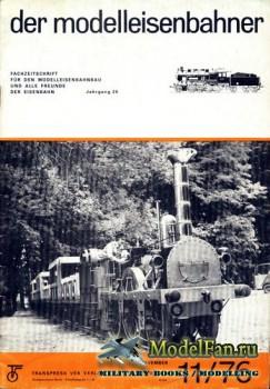 Modell Eisenbahner 11/1976