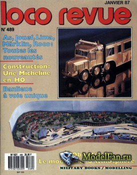 Loco-Revue №489 (January 1987)