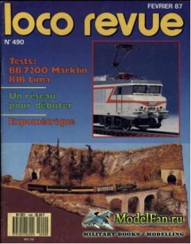 Loco-Revue №490 (February 1987)