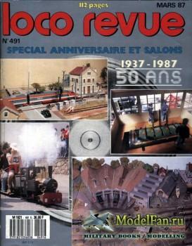 Loco-Revue №491 (March 1987)