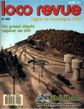 Loco-Revue №492 (April 1987)