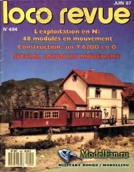 Loco-Revue №494 (June 1987)
