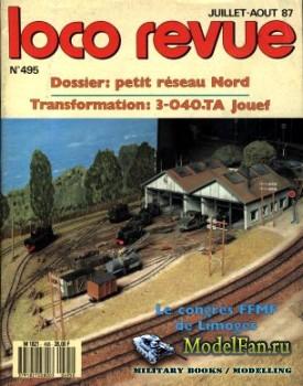 Loco-Revue №495 (July-August 1987)