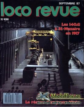 Loco-Revue №496 (September 1987)
