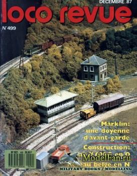 Loco-Revue №499 (December 1987)