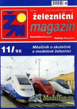 Zeleznicni magazin 11/1998