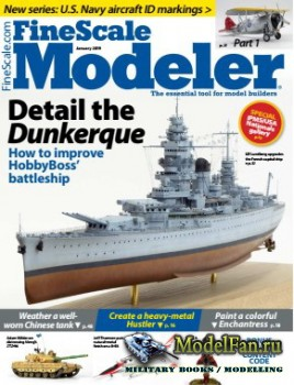 FineScale Modeler Vol.37 №1 (January 2019)