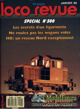 Loco-Revue №500 (January 1988)