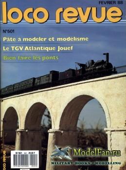 Loco-Revue №501 (February 1988)