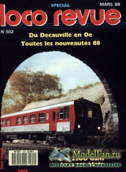 Loco-Revue №502 (March 1988)