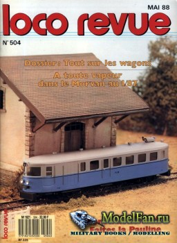 Loco-Revue №504 (May 1988)