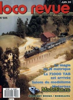 Loco-Revue №505 (June 1988)