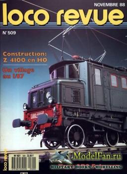 Loco-Revue №509 (November 1988)