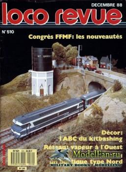Loco-Revue №510 (December 1988)