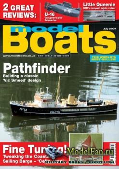 Model Boats (July 2007)