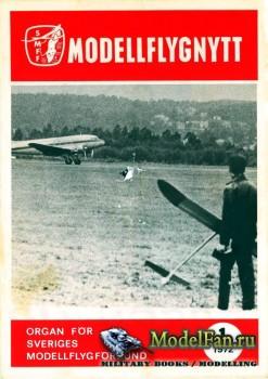 ModellFlyg Nytt №1 (1972)
