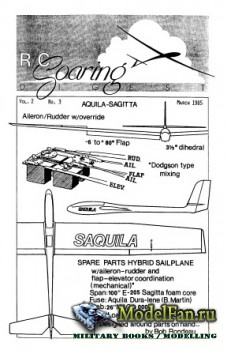 Radio Controlled Soaring Digest Vol.2 No.3 (March 1985)