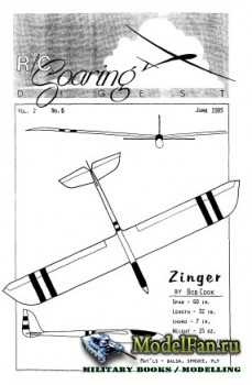Radio Controlled Soaring Digest Vol.2 No.6 (June 1985)
