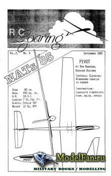 Radio Controlled Soaring Digest Vol.2 No.9 (September 1985)