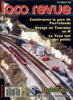 Loco-Revue №512 (February 1989)