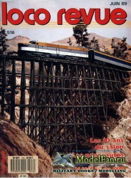 Loco-Revue №516 (June 1989)