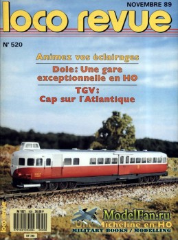 Loco-Revue №520 (November 1989)