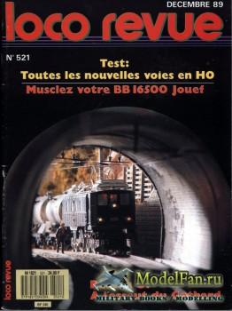 Loco-Revue №521 (December 1989)