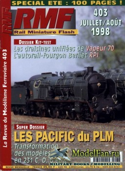 RMF Rail Miniature Flash 403 (July-August 1998)