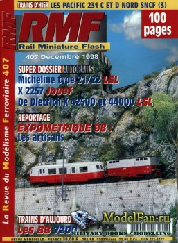RMF Rail Miniature Flash 407 (December 1998)